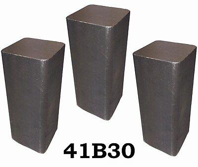 3 Rcs 4130 Steel Alloy Boron Rolled Bars Billets 3 6-7 Long 41b30 Hl