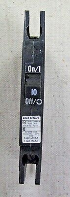 Cutler Hammer Qcr1010 1 Pole 10 Amp 120 240 Volt Circuit Breaker
