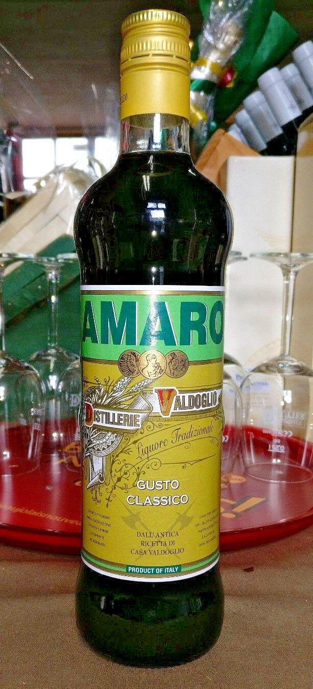 Kräuterlikör  1 x 0,7l Amaro Gusto classico  kleine Distillerie in Italien
