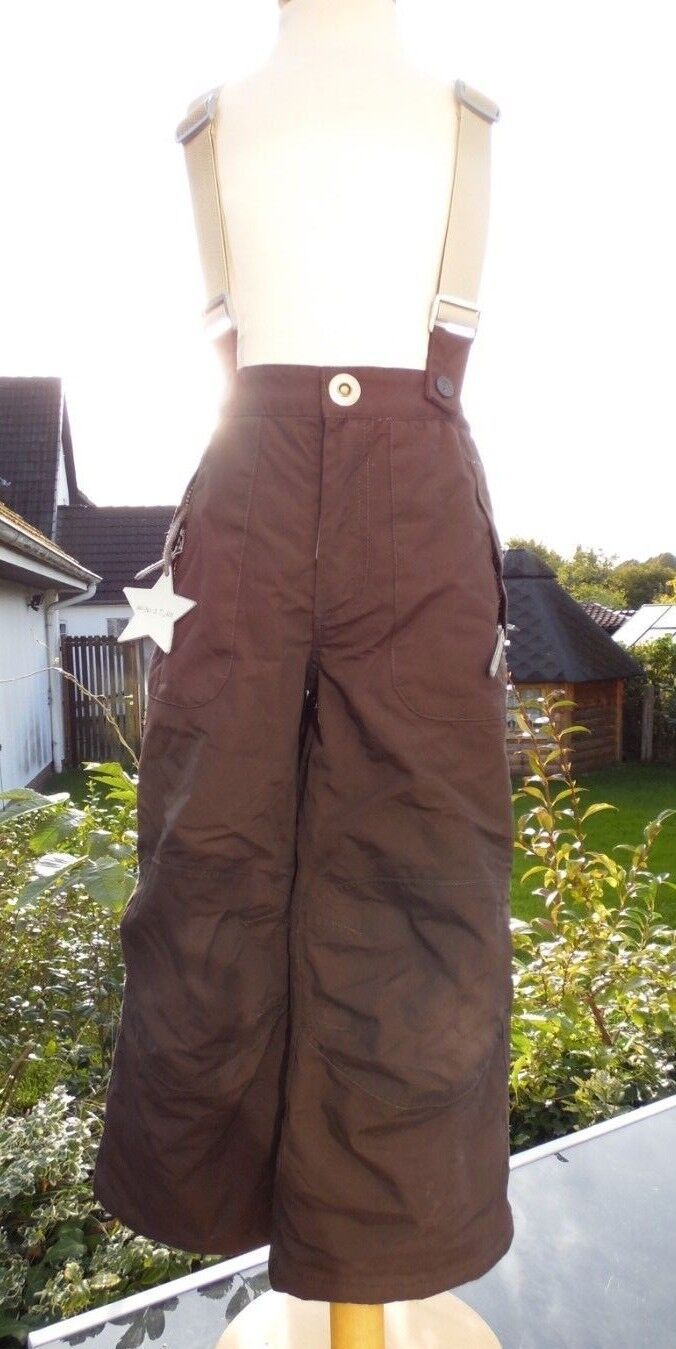MINI A TURE Skihose Schneehose Thermo Funktions-/Outdoorhose Gr. 6 (116) braun