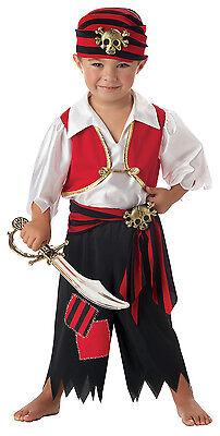 Ahoy Matey Skull Pirate Buccaneer Toddler Costume  (Pirate Toddler Costume)