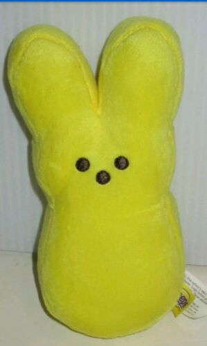 MARSHMALLOW PEEPS ICONIC EASTER CANDY STUFFED PLUSH YELLOW 6