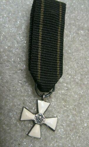 /Poland Belarus Mini Medal Cross,Gen.Bulak Balachowicz,1918