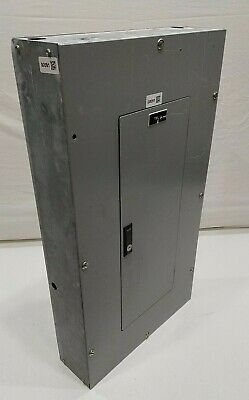Cutler Hammer Panel With 80 Amp Main Breakers 120208 Volt 3 Phase 4 Wire