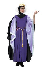 Ladies Snow White Evil Queen Costume Wicked Queen Fancy Dress Costume