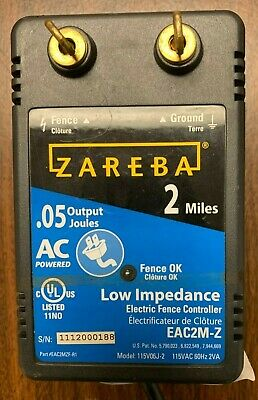Zareba Ac Powered Electric Fence Charger Eac2m-z
