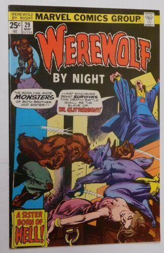 WEREWOLF BY NIGHT #29 - NM Marvel 1975 Vintage Comic