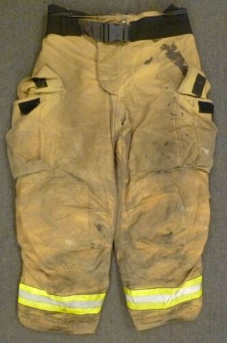 40x30 Globe Gxtreme Firefighter Pants Turnout Bunker Fire Gear w/ Liner P074