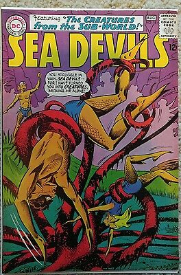SEA DEVILS #18 VF 8.0 DC 8/1964