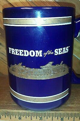 Ms Freedom Of The Seas Inaugural Royal Caribbean International Cruise Ship Mug