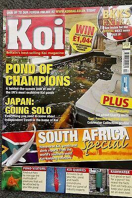 KOI MAGAZINE ~ OCTOBER 2007 ~ ISSUE 113