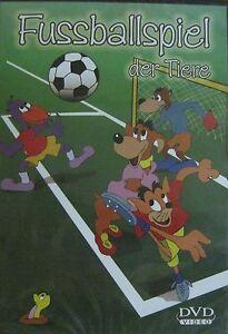  >>Fussballspiel der Tiere   DVD.**