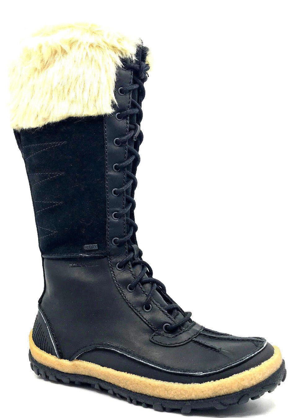 6be7ead652d Merrell Tremblant Tall Polar Waterproof Womens Snow Boot Black J45734 Size  6.5