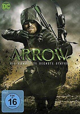 Arrow Staffel 6 Neu und Originalverpackt 5 DVDs - Original Serie