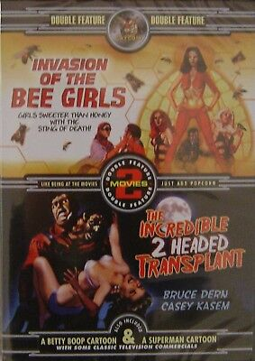 Invasion of the Bee Girls & The Incredible 2 Headed Transplant - Double - Double Headed Girls