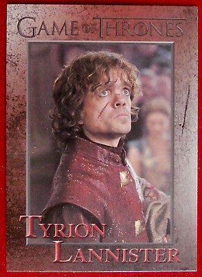 GAME OF THRONES - TYRION LANNISTER - Season 3 - Card #34 - Rittenhouse 2014