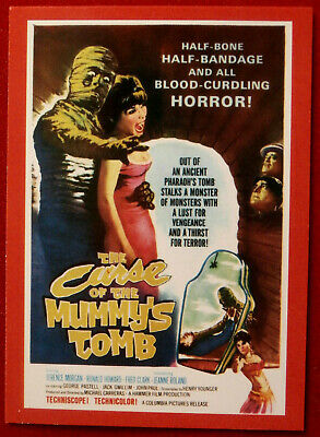 HAMMER HORROR - Series 2 - Card #157 - Curse Of The Mummy's Tomb, Jeanne Roland