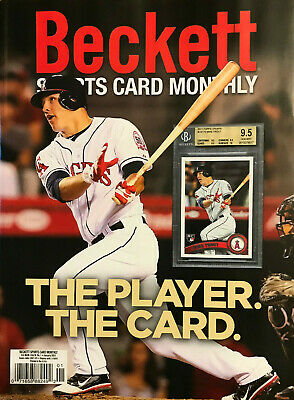 New January 2021 Beckett Sports Card Monthly Price Guide Magazine W/ Mike Trout