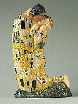 """GUSTAV KLIMT - Figur - """"Der Kuss - Le Baiser"""" - Skulptur in Geschenkarton"""