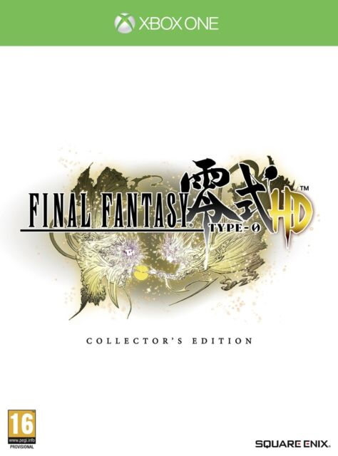 Final Fantasy Type-0 HD - Collector's Edition (Xbox One) NEW & Sealed