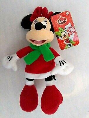 Disney Minnie Mouse Christmas Plush Stuffed Winter Gift Stocking Stuffer 9