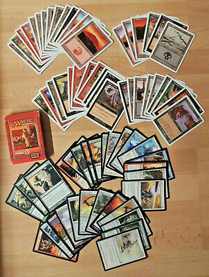 Magic the gathering Starter level pack 1999 40 cards + 30 cards from 2004