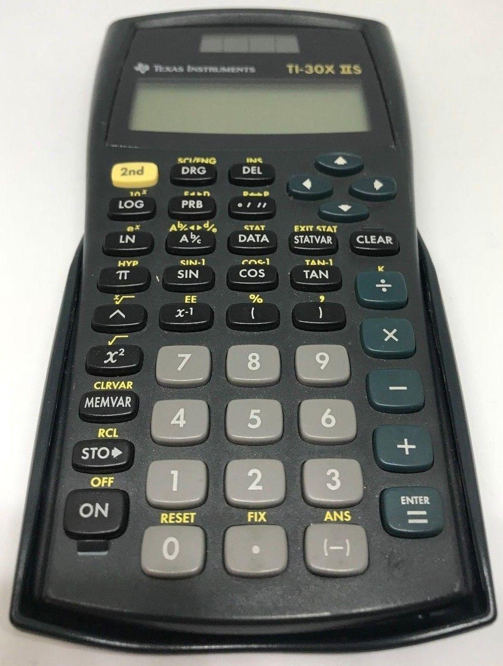 Texas Instruments 30XIIS Calculator