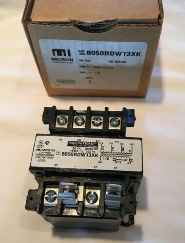 MICRON B050RDW13XK CONTROL TRANSFORMER IMPERVITRAN 46991