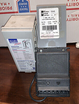 Mars Vn 2511 U5 Bill Validator 1s Only - Untested. Belts Are Good