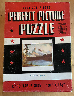 Perfect Picture Vintage Jigsaw Puzzle.