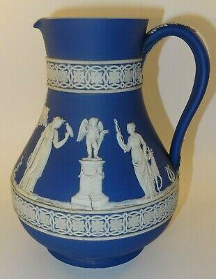 RARE Wedgwood Turquoise Jasperware dip Vase  c 1910