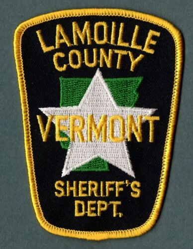 Lamoille County Vermont Sheriff Police Patch