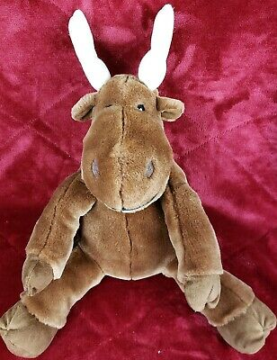 KOHLS CARES IF YOU GIVE A MOOSE A MUFFIN STUFFED TOY PLUSH DOLL](Stuffed Moose Toy)