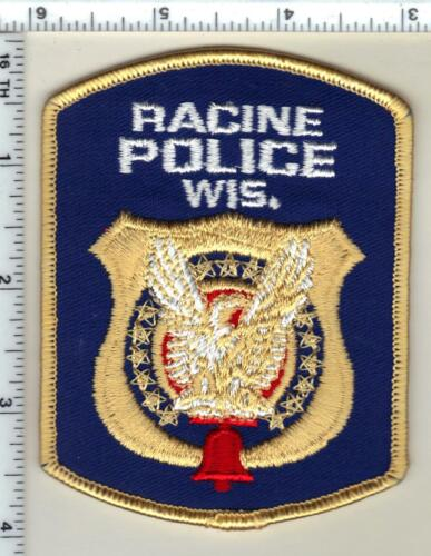 Racine Police (Wisconsin) 3rd Issue Shoulder Patch from 1992