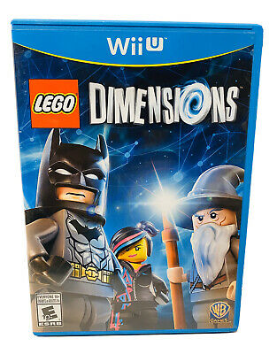 LEGO Dimensions Nintendo Wii U Game Complete W/ Manual Fast Free Shipping