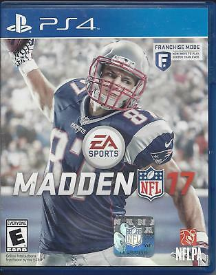 Madden Nfl 17  Ps4  Brand New Sealed Ships Next Day W Case   Game