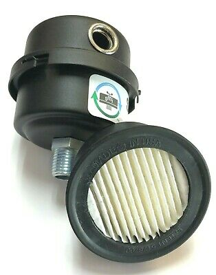 Air Compressor Filter Silencer 12 Male Pipe Thread 2-12 Od - 3 Height Usa
