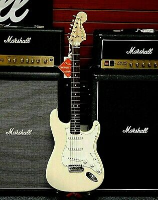 Fender Albert Hammond Jr. Signature Stratocaster! Olympic White!