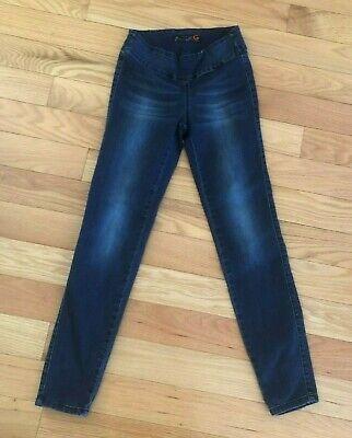 G by GUESS Women's Leggings Pants Navy Blue Cotton Blend Stretchy XS ()