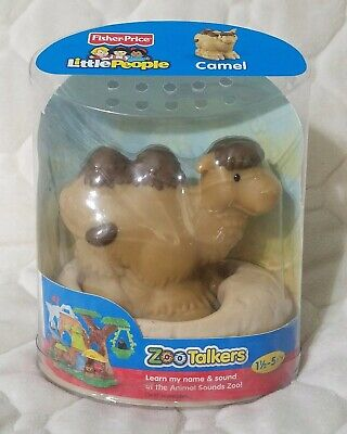 Fisher-Price Little People Zoo Talkers CAMEL NEW SEALED IN PACKAGE