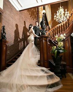 One of a kind Custom Couture Nektaria Wedding Gown Point Cook Wyndham Area Preview