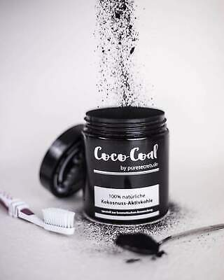 Aktivkohle-pulver (Coco Coal Kokosnuss Aktivkohle Pulver Zahnaufheller 1 x 30g Puresecrets)