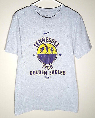 Tennessee Tech  T-Shirt by NIKE   Golden Eagles Basketball   Mens Small
