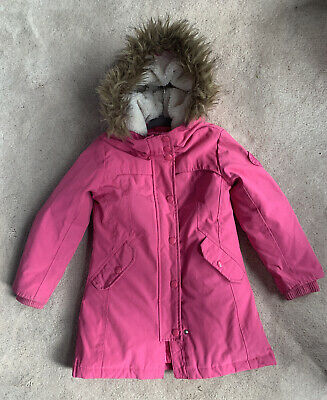 Gap Girl Pink Parka Coat (size s, Fits 6/7y)