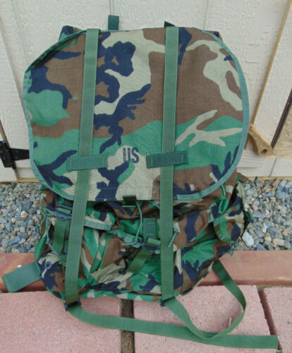 U.S. New LC-1 Large Camo Alice Pack w/new frame,straps & kidney pad, free ship