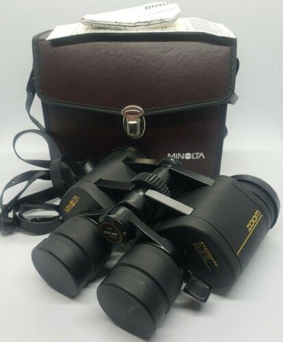 Minolta Standard 7x-15x35 Zoom Binoculars 3.6 Deg @ 15X - Multi-Coated