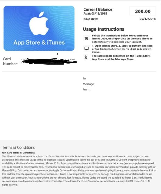 App Store & iTunes Gift cards | Other Electronics & Computers