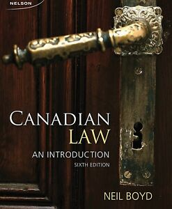 Canadian law: at introduction