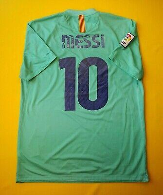 e4523994f93 4/5 Messi Barcelona jersey large 2010 2011 away shirt 382358-310 Nike ig93