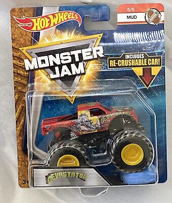 DEVASTATOR 2018 Hot Wheels Monster Jam Mud Truck & Re-crushable Car